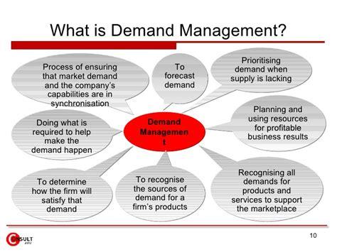 demand management plan template choice image templates