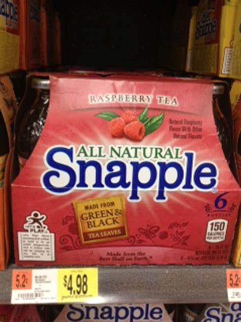 Coupon Code For Detox For Less by New Printable Snapple Coupons Hurry Fabulessly