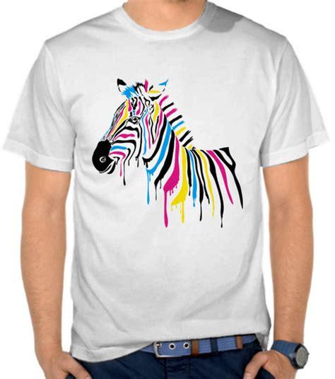 Kaos Kaos Dc Comic Ua Batman Logos Black Yellow Compression jual kaos colorful zebra cmyk satubaju