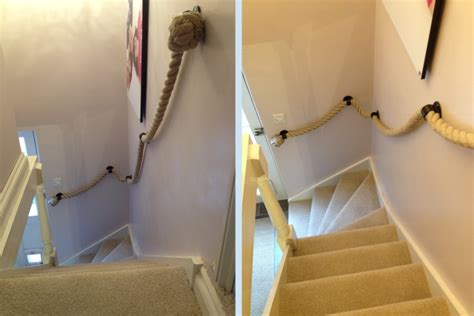 rope banister customer photos rope and splice your rope project made easy