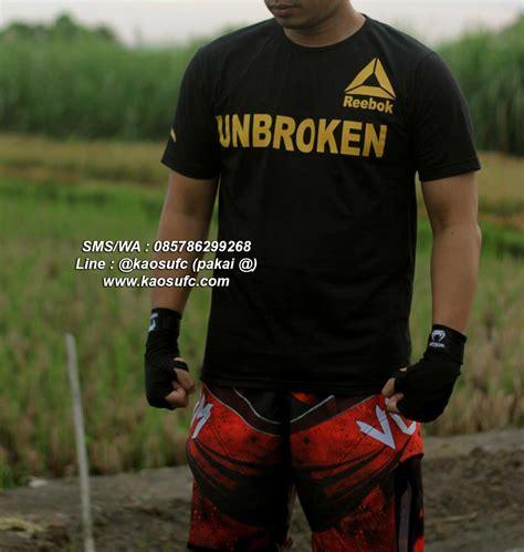 Tshirt Kaos Jones jual kaos ufc unbroken jones bones sms wa 085786299268