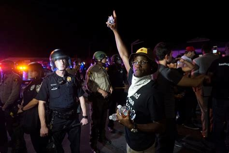 protests continue in el cajon after deadly officer protests grow tense after police slaying of black man in