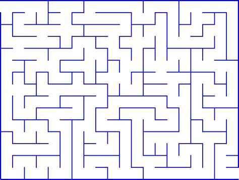 Printable Mazes Intermediate | mazes for kids