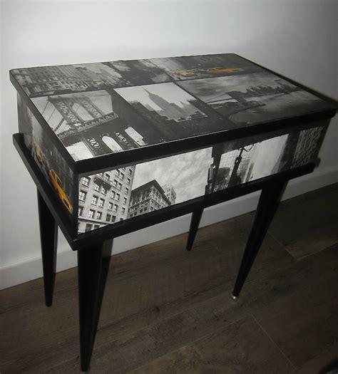 Table De Nuit New York by Chevet New York Eklectik