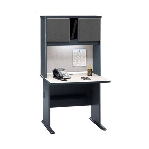 36 computer desk with hutch bush business series a 36 quot computer desk with hutch in