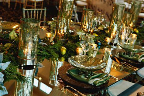 table mirror centerpiece gold and aqua table mirror centerpiece elizabeth designs the wedding