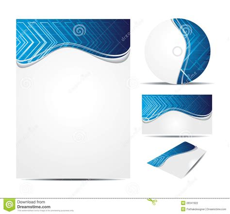 digital business card website template abstract digital business card template stock photography