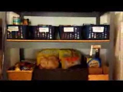 Kitchen Organization : Organized Pantry using Dollar Tree