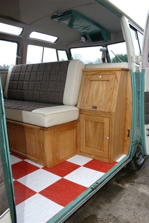 design vw cervan interior layout ideas 23 mobmasker hall bus customer rides gallery all things timber