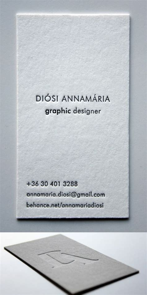 25 great ideas about letterpress business cards on
