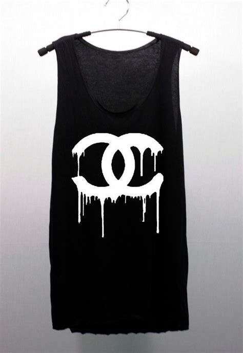 Channel Tops chanel coco chanel black or white t shirts tank