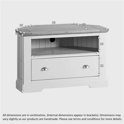 ideas  white corner tv cabinets