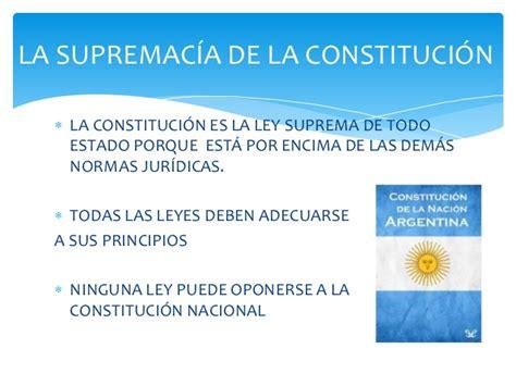 la supremac a de la constituci n y control de supremac 237 a de la constituci 243 n nacional poder constituyente