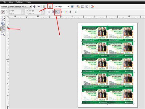 cara membuat kartu nama bolak balik cara mudah mencetak sendiri kartu nama dengan coreldraw