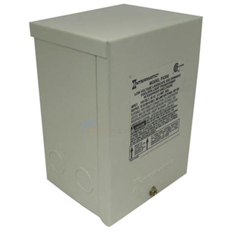 pool light transformer replacement intermatic transformer 12v 300w px300 inyopools com