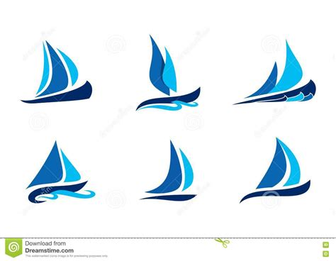sailboat logo sailing boat logo sailboat symbol creative vector