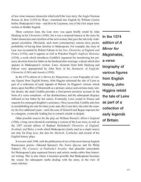 King Lear Essays by Traglear King Lear Essays Elements Of Tragedy