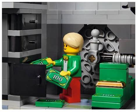lego vault tutorial lego creator series modular brick bank 10251