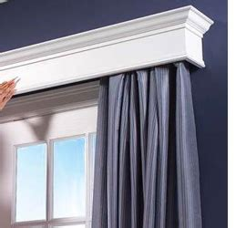 What Size Curtain Rod Do I Need Home Dzine Home Decor How To Build A Box Pelmet