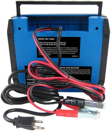 schumacher automotive speedcharge battery maintainer and charger schumacher ssc 1000a speedcharge 2 6 10