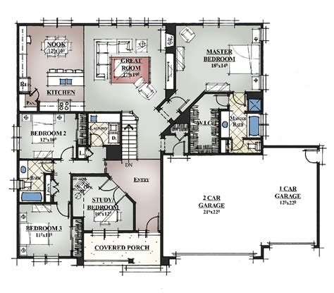 Home Plans by Custom Design House Plan