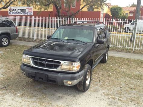 1999 ford explorer miami fl used cars for sale featuredcars com find used 1999 ford explorer xlt in miami florida united states
