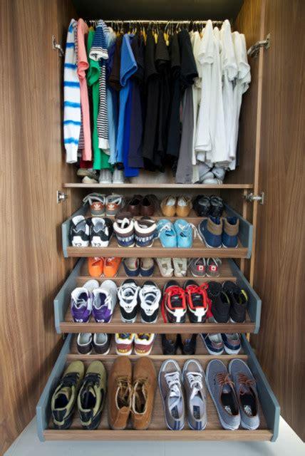 bespoke shoe storage bespoke shoe storage contemporary bedroom
