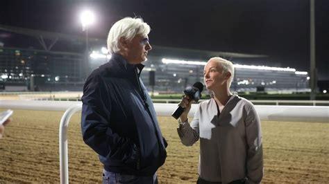 Bob Baffert Interview 3/24/17 at Dubai World Cup   YouTube