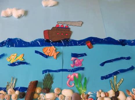 como hacer una maqueta del oceano como hacer una maqueta del mundo marino imagui