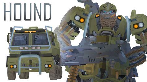 transformers hound hound flash transformers series