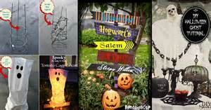 Homemade Halloween Yard Decorations Ideas 50 Easy Diy Outdoor Halloween Decoration Ideas For 2017