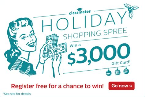 Shopping Spree Sweepstakes 2014 - 3 000 holiday shopping spree sweepstakes expired mama likes this
