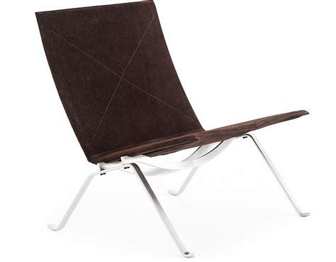 bench stool chairs poul kjaerholm pk22 chair hivemodern com