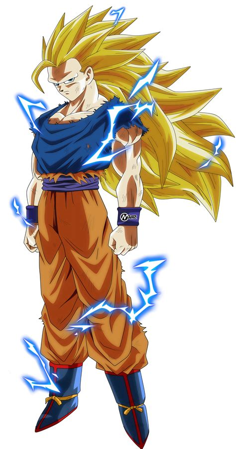 Goku Vegeta Ssj 3 goku ssj 3 by naironkr on deviantart