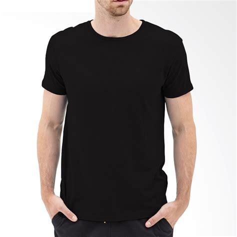 Kaos Distro Pria Hitam Lengan Pendek 3 jual kaosyes kaos t shirt polos o neck lengan pendek hitam harga kualitas terjamin