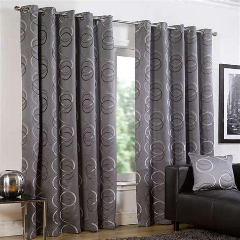 circle curtains quebec circle print eyelet lined curtains ebay