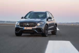 Mercedes Suv Amg Say Hello To The New 2018 Mercedes Amg Glc63