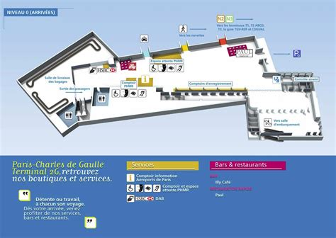 cdg map location voiture charles de gaulle terminal 2e