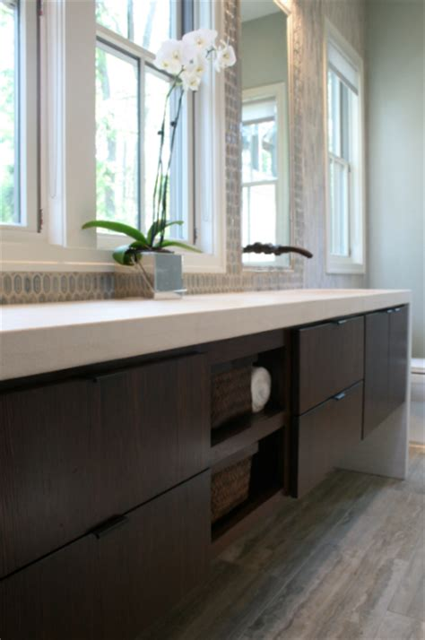Modern Floating Vanities by Floating Vanity Bathroom Rethink Design