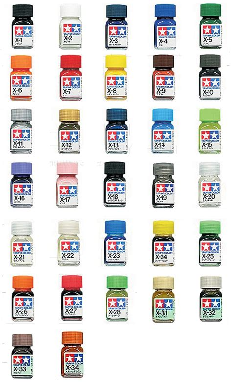 Cat Tamiya Enamel Paint Colour X 7 tamiya enamel paint 10ml mini bottle gloss color x1 x34