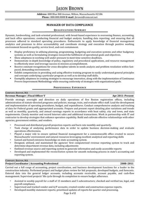 finance resume exles resume professional writers