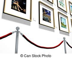 clipart gallery exhibition illustrations and clip 12 154