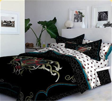 harley davidson bedroom harley davidson heart tattoo bedding