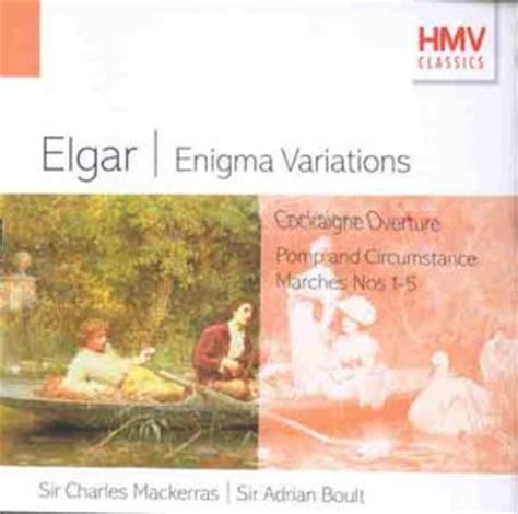 enigma variations a novel books elgar enigma variations pomp circumstance marches by