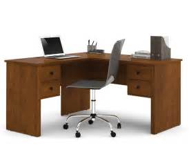 Desk L Shape Bestar Somerville L Shaped Desk