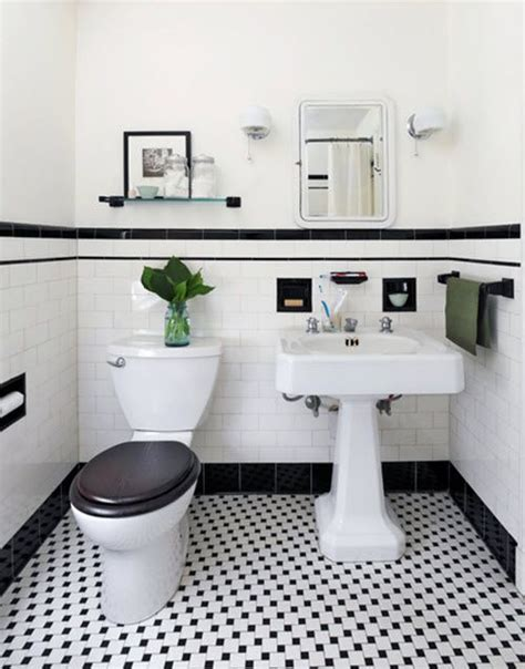 white tile bathroom ideas best 25 black white bathrooms ideas on