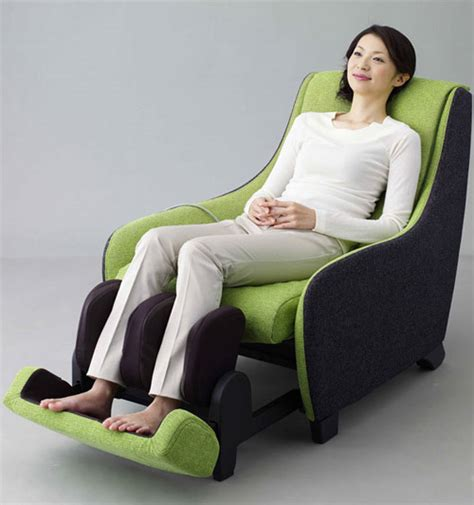 massage couch panasonic massage chair won japan good design award 09