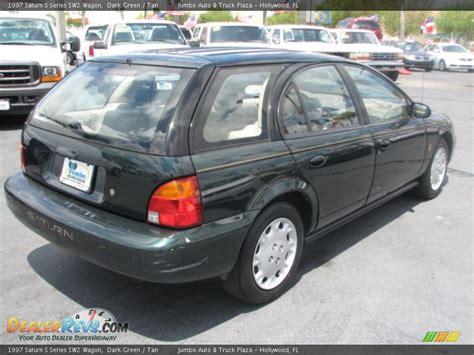 1997 saturn s series sw2 wagon green photo 8