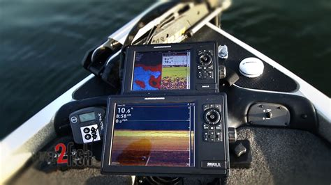 boat battery finder maximize marine electronics with dual graph setup youtube