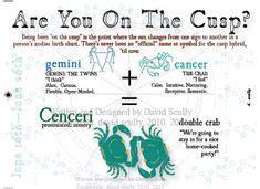 gemini cancer cusp gemini pinterest